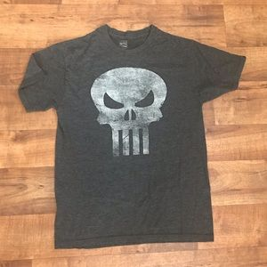Marvel Comics Punisher gray t-shirt